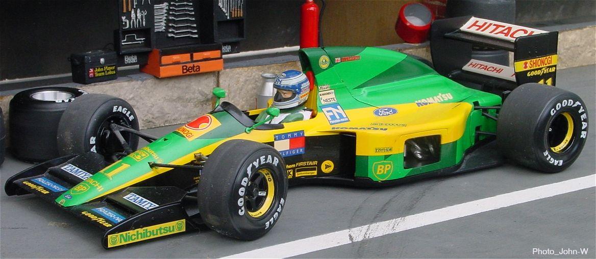 Lotus Ford 102d